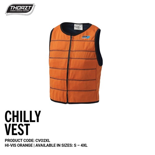 THORZT Chilly Vest Orange - 2XL